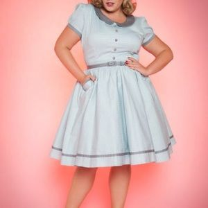 Pinup girl clothing Dee Dee dress 4x